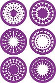 Circle,Vector,Star Shape,Print,Concentric,Nature,Retro Revival,Clip Art,Isolated,Magenta,Purple,Decoration,Checked,Art,Sharp,template,Snowflake,Pattern,Outline,Beauty In Nature,White,Blossom,Sparse,Midsection,Set,Ilustration,Spiked,jugged,Computer Graphic,Symmetry,Style,Design,Geometric Shape,Kaleidoscope,Textured,Ornate,Frame,Triangle,Pointing,Flower,Petal,Shape,Abstract,Design Element,Plant,Blurred Motion