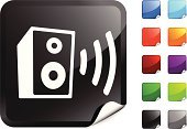 Speaker,Symbol,Sound Wave,Computer Icon,Label,Volume,Sound,The Media,Black Color,Music,Vector,Electrical Equipment,Blue,Ilustration,Announcement Message,Purple,Advice,Communication,Shiny,Design,Page Curl,Red,Orange Color,Global Communications,Green Color,Technology,Information Medium,Data,Wave Pattern,Computer Graphic,Digitally Generated Image