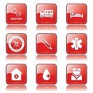 Healthcare And Medicine,Sign,Red,Red Buttons,Interface Icons,Vector,Digitally Generated Image,Computer Icon,Glossy Button,Symbol,Health Emergency,Nurse,Injecting,Stethoscope,Blood,Icon Design,vector icon,Ilustration,Hospital,Computer Graphic,Shape,web icon,Design,Isolated,Medical Icon,Phone Icon,Internet,Icon Set,Ambulance,24 Hrs,First Aid Kit,Temperature,Care,Collection,Set,App Icon