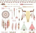 North American Tribal Culture,Native American,Dreamcatcher,Indian Ethnicity,Feather,Indian Culture,Symbol,Frame,Arrow,Wedding Invitation,Decoration,American Tribal Culture,Senior Adult,Greeting Card,Design Element,American Bison,Ornate,Feather Headdress,Collection,Painted Image,Sign,Cultures,Ethnic,Retro Revival,Washington Redskins,card making,Digitally Generated Image,Collage,Save The Date,Copy Space,Wigwam,Scrapbook,Aztec,Indigenous Culture,Youth Culture,Animal Skull,American Culture,Embellishment,Navajo,Vector,Doodle,Web Page,Camping,Drawing - Art Product,Beauty In Nature,Old-fashioned,Invitation,Wedding,Set
