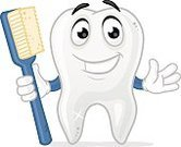 Dental Equipment,Dental Health,Smiling,Cheerful,Healthcare And Medicine,Happiness,Characters,Vector,Cartoon,Holding,Cleaning,Ilustration,Toothbrush,White,Human Teeth,Voice,Isolated,Mascot,Hygiene