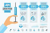 Infographic,Healthcare And Medicine,Award Ribbon,Set,Computer Icon,Vector,Design,Data,Diagram,Pie,Apple - Fruit,Syringe,Equipment,Design Element,Collection,Flat,Graph,Label,Sign,Arrow Symbol,Hygiene,Healthy Eating,template,Visualization,Chart,Plan,Symbol,Analyzing,Computer Graphic