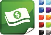Currency,Stack,Dollar Sign,Dollar,Symbol,Label,Vaulted Door,Computer Icon,Finance,Treasure,Home Finances,Dealing Room,Wealth,Computer Graphic,Red,Green Color,Page Curl,Digitally Generated Image,Black Color,Banking,Orange Color,Blue,Vector,Shiny,Design,Bringing Home The Bacon,Business,Ilustration,Purple