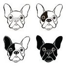French Bulldog,White,Black Color,Young Animal,Paw,Mammal,Wrinkled,Friendship,Small,Love,Pets,Ink,Design Element,Frowning,Single Object,Puppy,Greeting Card,Monochrome,Purity,Vector,Sketch,Fur,Remote,Drawing - Art Product,Animal,Fat Cell,Sadness,Ilustration,Human Face,pooch,Humor,Dog,Purebred Dog,Pen,Set,Pouting,French Culture,Fawn,Black And White,Overweight,Hand-drawn,Canine,Cute