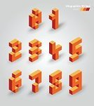 Futuristic,Typing,Business,Cube Shape,Brick,Geometric Shape,Part Of,Shape,Insignia,Sign,Three Dimensional,Computer,Alphabet,Infographic,Pixelated,Ilustration,Computer Graphic,Vector