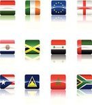 Flag,Hungary,Morocco,Jamaica,St. Lucia,puertorico,Religious Icon,England,Art,National Landmark,South Africa,Symbol,Euro Symbol,Vector,Rectangle,Paraguay,Syria,Reflection,United Arab Emirates,Cultures,Collection,Travel Locations,Vector Icons,Illustrations And Vector Art,Republic of Ireland,Ilustration,Ethnicity,Design