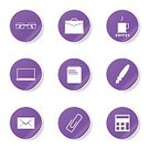 Digitally Generated Image,Round Button,Glossy Button,Ilustration,App Icon,Coffee - Drink,Ring Binder,Interface Icons,Computer Icon,Collection,E-Mail,Bizarre,Set,vector icon,Symbol,Icon Design,Laptop,Pen,Phone Icon,Isolated,Design,Eyeglasses,File,Notebook,Tea - Hot Drink,Vector,Sign,Icon Set,Note Pad,Calculator,Internet,web icon,Computer Graphic,Shape,Paper Pin