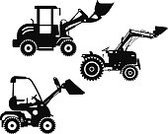 Forklift,Icon Set,Equipment,Car,Loading,Land Vehicle,Front End Loader,Skidding,Construction Industry,Bull - Animal,Powder Compact,Backgrounds,Mining,Bucket,Scraper,Cartoon,Construction Machinery,Bobcat,Scoop,Field,Road,Machinery,White,Track,Ilustration,Isolated,Heavy,Set,Transportation,Industry,Earth,Wheel,Silhouette,Digging,Vehicle Scoop,Cityscape,Building - Activity,Collection,Engineering,Small,Black Color,Land,Working,Mover