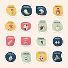 Label,template,Equipment,Winning,Soccer,Backgrounds,Vector,Sport,Ilustration,Symbol,Speech