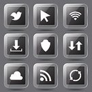 Interface Icons,Black Color,Black Button,Icon Design,Symbol,Glossy Button,Design,Fog,Connection,Social Gathering,Bird,Isolated,Phone Icon,vector icon,Set,Ilustration,Digitally Generated Image,App Icon,Wireless Technology,Cloud - Sky,dowload,Vector,Sign,Icon Set,Collection,Internet,web icon,Computer Graphic,Shape,Social Networking