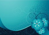 Growth,Blue,Flower,Vector,Floral Pattern,Abstract,Swirl,Winter,Backgrounds,Frame,Elegance,Ice,Ilustration,Spray,Pollen,Snow,Decoration,Curve,Design,Snowflake,Ornate,Painted Image,Cold - Termperature,Nature,Christmas,Inspiration,Nature Backgrounds,Flowers,Nature,Holidays And Celebrations,Beauty