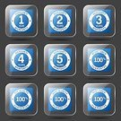 App Icon,Ilustration,Digitally Generated Image,Security,Guarantee Seal,4 Year,2-3 Years,Vector,Sign,Icon Set,Collection,5 Year,Internet,web icon,Computer Graphic,Shape,Top Quality,Best Quality,Isolated,Design,Glossy Button,Phone Icon,warranty,12-18 Months,Warranty Seal,Interface Icons,vector icon,Set,Icon Design,Symbol,Blue,Blue Button,3 Year