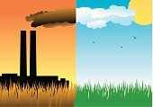 Factory,Pollution,Smoke - Physical Structure,Smog,Green Color,Carbon Dioxide,Dirty,Grass,Acid Rain,Small,Environment,Industry,Environmental Damage,Climate,Vector,Chimney,Ilustration,Sun,Leaf,Nature,Pipe - Tube,Ozone Layer,Fuel and Power Generation,Cloud - Sky,dioxide,Cloudscape,Warming Up,Gasoline,condensate,Germinating,Toxic Substance,Backgrounds,Stratosphere,Sky,Botany,Concepts,Freshness