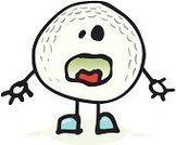 Golf,Cartoon,Golf Ball,Ball,Sadness,Depression - Sadness,Characters,Drawing - Art Product,Sport,Ilustration,Sphere,Relaxation Exercise,Circle,Sports And Fitness,Golf,Vector Cartoons,Illustrations And Vector Art,Despair,Pencil Drawing,Grief,Disappointment
