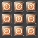 Ilustration,Digitally Generated Image,Glossy Button,App Icon,Security,2-3 Years,Guarantee Seal,Interface Icons,Set,Collection,vector icon,Icon Design,Orange Color,Symbol,4 Year,Top Quality,warranty,Phone Icon,Isolated,Warranty Seal,12-18 Months,5 Year,3 Year,Design,Vector,Internet,Icon Set,web icon,Shape,Sign,Computer Graphic,Best Quality