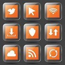 Computer Graphic,Sign,Shape,web icon,Icon Set,Internet,Vector,Design,Fog,Connection,Social Gathering,Bird,Isolated,Phone Icon,Collection,Set,Ilustration,Digitally Generated Image,App Icon,Wireless Technology,Cloud - Sky,dowload,Glossy Button,Interface Icons,Icon Design,vector icon,Symbol,Orange Color,Social Networking