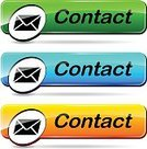 Vector,Pushing,Web Page,Isolated,Computer Icon,push-button,Yellow,Green Color,Interface Icons,E-Mail,Design,Internet,Orange Color,Blue,Mail