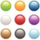 Star - Space,Sale,Price Tag,Label,Push Button,Interface Icons,Symbol,Badge,Circle,Religious Icon,Computer Icon,Star Shape,Icon Set,Shiny,Vector,Silver Colored,Red,Orange Color,Retail,Merchandise,Green Color,Blue,Ilustration,Gray,Purple,Illustrations And Vector Art,Shadow,Vector Icons