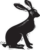 Old-fashioned,Animal,Black Color,Rabbit - Animal,Cottontail,Painted Image,Mammal,Old,Cute,Jackrabbit,Design,Vector,Symbol,Sitting,Woodcut,Animals In The Wild,Drawing - Art Product,Animal Ear,Rodent,Springtime,Isolated,Ilustration,Computer Icon,Linoleum,Nature,Sign,Paintings,Hare,Computer Graphic,Wildlife,Cultures,Zoology,Vertebrate,Easter,Fur,Engraved Image,Silhouette