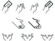 Human Hand,Business Card,Credit Card,Smoking,Computer Icon,Symbol,Glove,Religious Icon,Cool,Ring,Sign,Vector,Iconset,Ilustration,Vector Icons,Communication,Concepts And Ideas,Clip Art,Illustrations And Vector Art