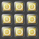 App Icon,Ilustration,Digitally Generated Image,Security,Guarantee Seal,4 Year,2-3 Years,Vector,Sign,Icon Set,Collection,5 Year,Internet,web icon,Computer Graphic,Shape,Top Quality,Best Quality,Isolated,Design,Glossy Button,Phone Icon,warranty,12-18 Months,Warranty Seal,Interface Icons,vector icon,Set,Icon Design,Symbol,Yellow,Yellow Button,3 Year
