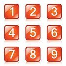 Isolated,Design,Vector,Phone Icon,Number,Number 2,Position,Counting,Sign,Computer Graphic,Number 5,Number 8,Number 3,Icon Set,Internet,Shape,web icon,Number 4,Number 9,Digitally Generated Image,Glossy Button,Interface Icons,Ilustration,App Icon,Positioning,Decimal Point,Orange Color,Collection,Number 7,Number 6,Set,vector icon,Symbol,Icon Design,Number 1