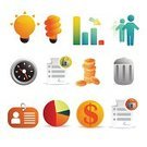 Satin,Identity,Symbol,Computer Icon,Finance,Icon Set,ID Card,Home Finances,Pie Chart,Clock,Currency,Light Bulb,Document,Security,Internet,Push Button,Design Element,Vector,Lock,Ilustration,Web Page,Web 2 0,Garbage Can,Collection,Illustrations And Vector Art,User Group,Vector Backgrounds,Isolated Objects,Vector Icons