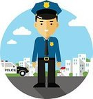 Safety,Crime,Security Guard,Criminal,Justice - Concept,Male,City,Backgrounds,One Person,Street,Town,Surveillance,Sign,Computer Icon,Job - Religious Figure,Vector,Officer,Hat,Security,Security Staff,Ilustration,Badge,Police Force,White,Sheriff,Cowboy,Law,Cap,USA,Symbol,Car,Professional Occupation,People,Gun,Caucasian Ethnicity,Adult,Flat,Urban Scene,Protection,Cartoon,Isolated,Characters,Occupation,Building Exterior,Authority,Men,Uniform
