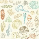 Nature,Beige,Vector,Ilustration,Pattern,Backgrounds,Season,Sea,Summer,Beach,Vacations
