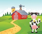 Glass,Happiness,Female Animal,Farm,Cattle,Cute,Cheerful,Symbol,Smiling,Standing,Showing,Mascot,Landscape,Backgrounds,Milk,Landscaped,Ilustration,Nature,Presentation,Spotted,Cow,Animal,Dairy Farm,Fun,Humor,Characters,Cartoon,Thirsty