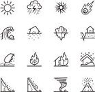 Storm,Tree,Symbol,Icon Set,Hurricane - Storm,Vector,Volcano,Environment,Broken,Earthquake,Forest,Danger,Thunderstorm,Web Page,Tsunami,Meteorite,Sign,Global,Mountain,Earth,Snow,Asteroid,Accident,Burning,Erupting,Damaged,Disaster,Cloud - Sky,Landslide,Ilustration,House,Rain,Tornado,Wind,quake,Avalanche,Wave,Natural Disaster,Iceberg - Ice Formation,Fire - Natural Phenomenon,Nature,Environmental Damage,Greenhouse,Exploding,Warming Up,Photographic Effects