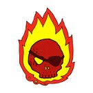 Drawing - Activity,Ilustration,Cheerful,Doodle,Clip Art,Bizarre,Cute,Spotted,Fire - Natural Phenomenon,Burning,Pirate,Sign,Comic Book,Tattoo