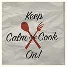 Spoon,Restaurant,Typescript,Vector,Wrinkled,Vegetable,Occupation,Lifestyles,Dinner,Crumpled,Food,Ilustration,Keep Calm,Cooking