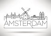 Red Light,Amsterdam,Symbol,Musemu,Canal,Netherlands,Cultures,Famous Place,Tourism,Design Element,Typescript,Architecture,Vector,Ilustration,Computer Graphic,Urban Skyline