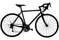 Bicycle,Cycling,Mountain Bike,Wheel,Silhouette,Vector,Spoke,Ten-speed Bicycle,Commuter,Vector Bike,Black Color,Transportation,Transportation,Vector Icons,Healthy Lifestyle,Concepts And Ideas,Mode of Transport,Tour Bike,Illustrations And Vector Art
