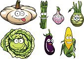 Garlic,Cabbage,Eggplant,Symbol,Asparagus,Pumpkin,Cartoon,Food,Vegetable,Corn,Eating,Salad,Juicy,Design,Harvesting,Fun,Cute,Multi Colored,Dieting,Organic,Healthy Lifestyle,Happiness,Green Color,Isolated,Vector,Kohlrabi,Vitamin,Healthy Eating,Healthcare And Medicine,Freshness,Cheerful,Agriculture,Ripe,Ingredient,Food And Drink,Humor,Crop,Vegetarian Food,Market,Computer Graphic,Vegetable Garden,Nature,Sweet Food,Refreshment,Characters