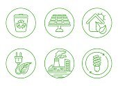 Planet - Space,Environment,Responsibility,Dirt,Turbine,Tree,Recycling,Ilustration,Nature,Leaf,Symbol