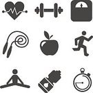 Stopwatch,Vector,Cycling,Badminton,Symbol,Table Tennis,Relaxation,Pool Game,Tennis,Sport,Gymnastics,Medal,Exercising,Yoga