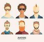 Hipster,Portrait,Young Adult,Student,Teacher,Human Head,Human Face,Avatar,Symbol,The Media,Ilustration,Teenager,Businessman,Computer Graphic,Business,Sign,Communication,Beard,Flat,Beauty,Job - Religious Figure,Individuality,People,Characters,Mustache,Hairstyle,Modern,Set,Men,Internet,user,Design,Backgrounds,Isolated,Style,Cartoon,Male,Fashion,Circle,Little Boys,Social Issues,Vector,One Person
