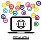 Icon Set,Laptop,Global Communications,Communication,Social Issues,Social Networking,The Social Network,Collection,Backgrounds,Marketing,Technology,Concepts,People,Multimedia,Design Element,Connection,Advice,Abstract,Shopping,Internet,Computer,Ilustration,Vector,Symbol,Design,Business,E-commerce