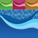 Backgrounds,Technology,Grid,Turquoise,Abstract,Light - Natural Phenomenon,Business,Pattern,Blue,Color Gradient,Swirl,Ilustration,Design,Wire Mesh,Curve,Vector Backgrounds,Wallpaper Pattern,Technology Backgrounds,Technology,Clip Art,Brightly Lit,Vibrant Color,Bright,Illustrations And Vector Art
