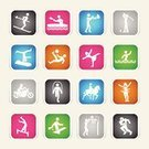 Exercising,Symbol,Sport,Horse,Computer Icon,Icon Set,Silhouette,Boxing,Gymnastics,Motorcycle,People,Canoe,Polo,Aerobics,Cartoon,Golf,Interface Icons,Football,Canoeing,Vector,Ballet,Basketball - Sport,Pink Color,Tennis,Riding,American Football - Sport,Winning,Sports Training,Green Color,Success,Black Color,Blue,Color Gradient,Brown,Silver Colored,Glowing,Ilustration,Gray