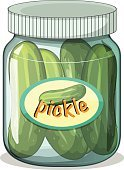 Vegetable,Food,Cooked,Raw Food,Cucumber,Clip Art,Healthy Eating,Organic,Computer Graphic,raw material,Sign,Vinegar,Fast Food Restaurant,Pickle,Freshness,Vitamin Pill,Snack,Label,Jar,Close-up,Vector