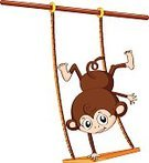 Tossing,Plywood,Rope,Handstand,Mascot,Vector,Skill,Close-up,Brown,White Background,Clip Art,Chimpanzee,Fluffy,Scratching,Sitting,Computer Graphic