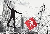 Skateboard,Skateboarding,Sign,Extreme Sports,Sport,Dirty,Street,City,Teenager,Stoplight,Grunge,Urban Scene,Silhouette,Fence,Barbed Wire,Wire,Ghetto,People,Vector,Park - Man Made Space,Exercising,Urban Skyline,Jumping,Retro Revival,Adolescence,Cityscape,Skyscraper,Communications Tower,Lifestyles,Ilustration,Stunt,Action,Youth Culture,Cut Out,Fun,Men,People In The Background,Leisure Activity,Enjoyment,Vector Backgrounds,Practicing,Outdoors,Illustrations And Vector Art,Architecture And Buildings,People,Architecture Abstract