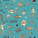 Drawing - Art Product,Backgrounds,Pattern,Flounder,Wallpaper,Long Hair,Fish,Doodle,Art,Fashion,Summer,Fishing,Posing,Bubble,Facial Expression,Isolated,Coral,Seagull,Old-fashioned,Mermaid,Human Hand,Wheel,Nautical Vessel,Text,Cartoon,Men,Travel,Seamless,People,Sea,Ilustration,Anchor,Vector,Perch,Navy,Macro,Ship,Bird,Shell,Lighthouse,Drinking Water,Salmon,Mischief,Fisherman,Cute