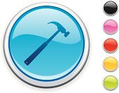 Hammer,Construction Worker,Symbol,Interface Icons,Computer Icon,Blue,Push Button,Repairing,Work Tool,Internet,Pink Color,Construction Industry,Green Color,Colors,Glass - Material,No People,Color Image,Red,Circle,White Background,Clip Art,Shiny,Vector,Black Color,Computer Graphic,Digitally Generated Image,Orange Color,Ilustration