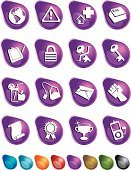 Computer Icon,Icon Set,Purple,Internet,Exclamation Point,Green Color,Trophy,Human Hand,Award,Teabag,Key,Clipboard,Number 16,Envelope,Scroll,Fist,Sphere,Earth,Padlock,Number 8,Blue,Fruit,Juice,Award Ribbon,music player,Red,Brown,Orange Color,Cross Shape,Black Color,Warning Symbol,Objects/Equipment,Vector Icons,Illustrations And Vector Art,Business,Warning Sign