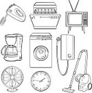 Equipment,Computer Keyboard,Touch Screen,Merchandise,Commercial Kitchen,Entertainment,Lid,Line Art,Outline,Clip Art,Washing Machine,Eating,Incomplete,Electric Mixer,Black And White,Symbol,Clock,Sketch,Electric Fan,Icon Set,accompanied,Doodle,Creativity,Domestic Kitchen,Kitchen,Appliance,Electricity,Vector,Ilustration,Drawing - Art Product,Drawing - Activity,Pencil Drawing,Keypad,Vacuum Cleaner,Digitally Generated Image,Blender,Computer Graphic,Cable,Dishwasher,Drinking,Television Set,Computer Icon,Scribble