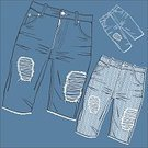 Clothing,Blue,Fashion,Denim,Vector,Hole,Jeans,Ilustration,Backgrounds,Pattern,Shape,Label,Torn,Too Big,Textile,Material,Messy,Pocket,attrition